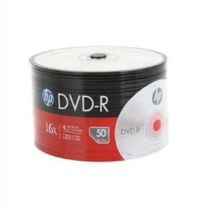 HP DME00070-3 DVD-R 4.7GB 50li Paket