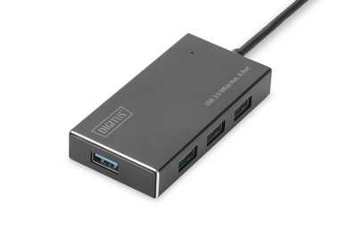 Digitus DA-70240-1 4 Port USB 3,0 Hub-5V/2A