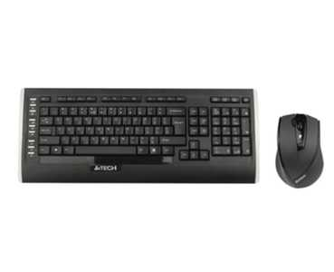 A4 Tech 9300F Q Kablosuz MM V-Track Mouse Set