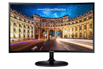 "Samsung 23.5"" LC24F390FHMXUF 4ms Curved Freesync"