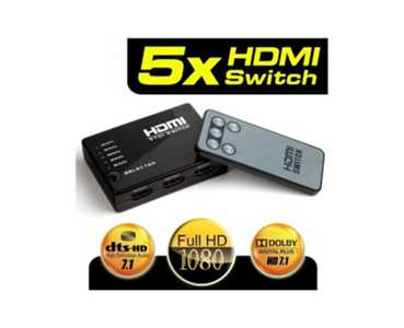 Dark DK-HD-SW4X1 Full HD 5 /1 Kumanda HDMI Switc