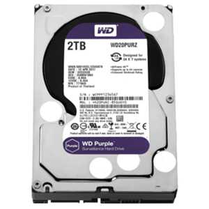 WD 2TB Purple 3.5'' 64MB Sata 6Gb/s 7/24 WD20PURZ
